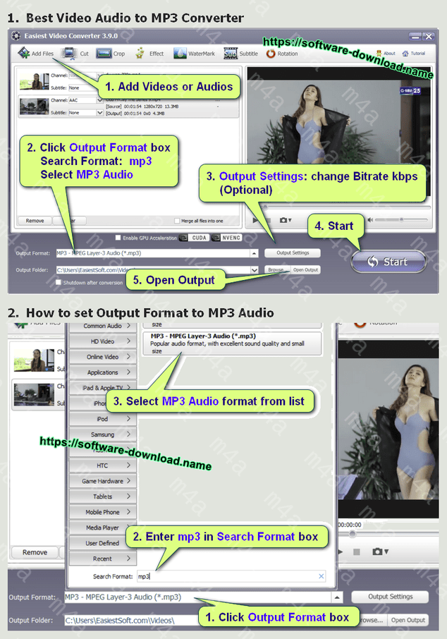 18 best free M4A to MP3 converter software for Windows