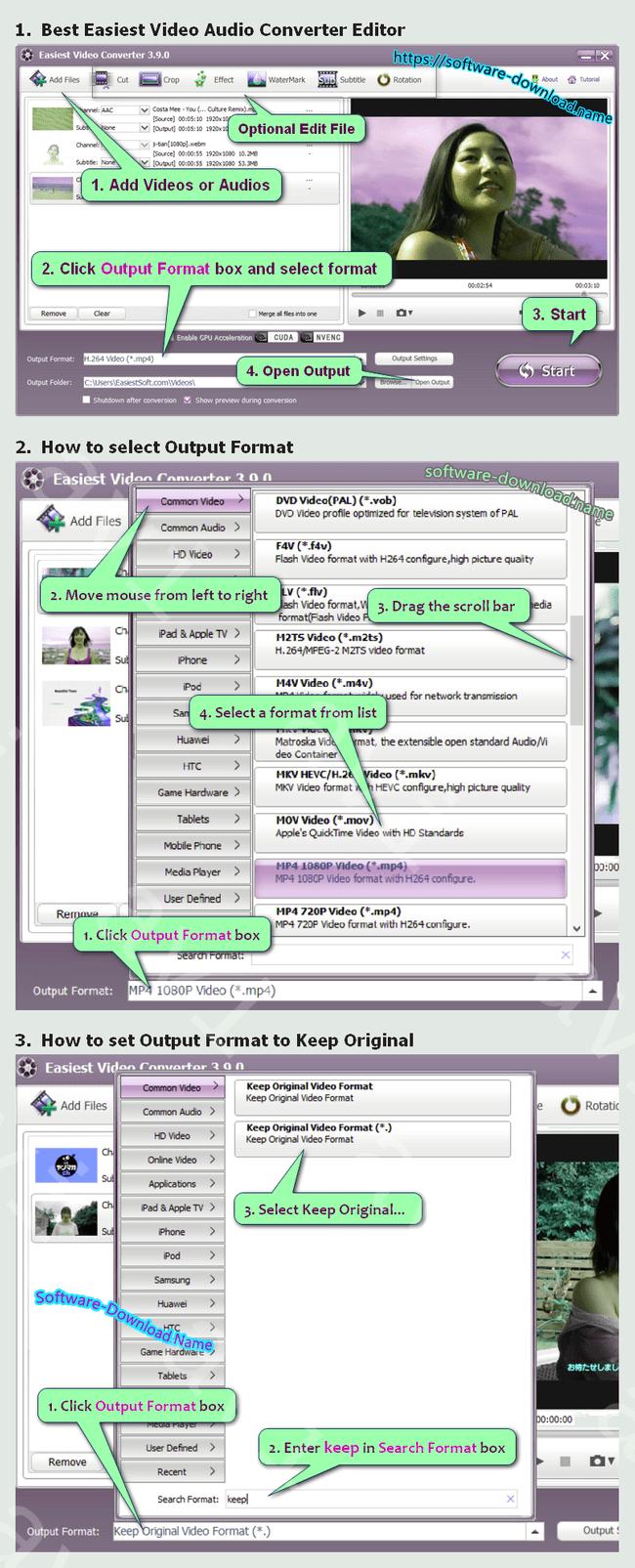 Avi To Swf Converter Windows 10 Easiest Video Editor Converter